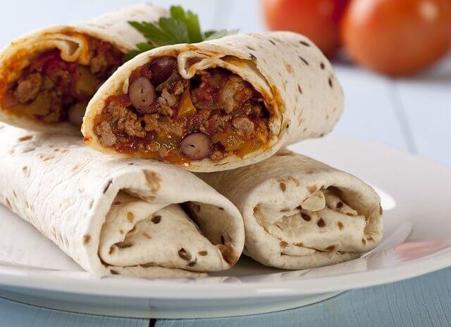 beef-and-bean-burritos