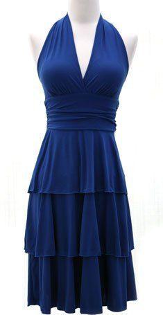 gorgeous cobalt blue dress