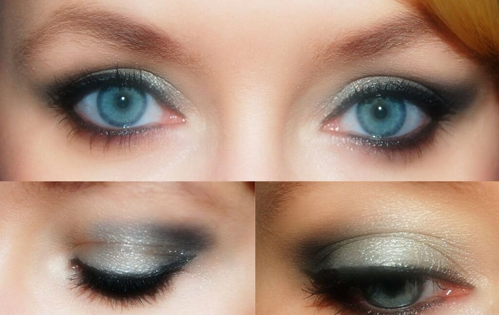 How to Apply Black Eye Makeup - Funky Colour