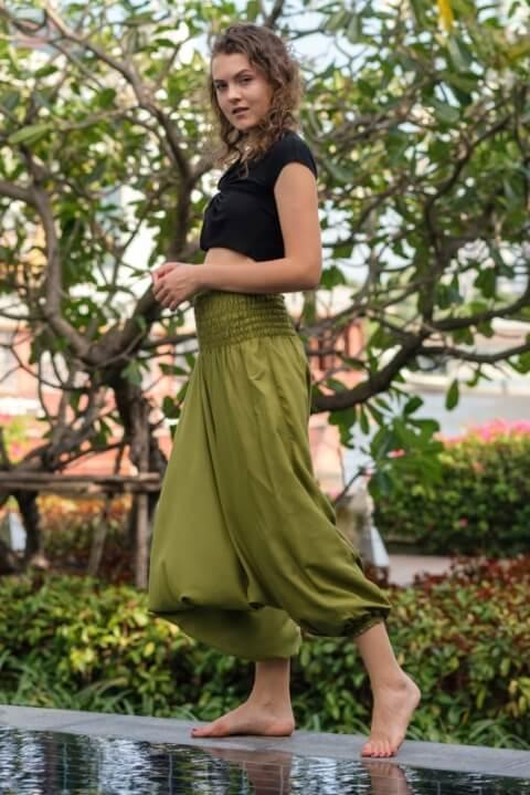 female hippie pants