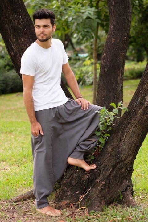 male hippie pants
