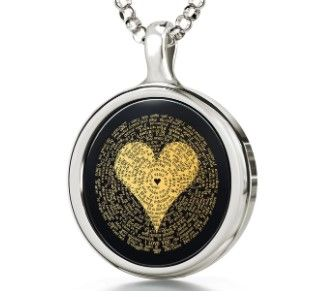 I love You in Different Language Necklace - NanoStyle Jewelry