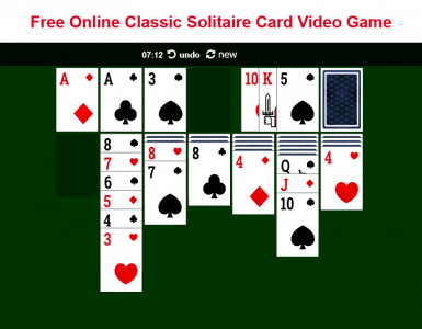 Free Classic Solitaire Card Games Online